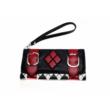 Harley Quinn halloween farsang jelmez kiegészítő - Fekete-piros pénztárca