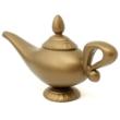 Aladdin jelmez kiegészítő - műanyag játék csodalámpás csoda lámpás