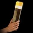 Minecraft alvós éjjeli lámpa - világító fáklya