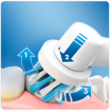 Oral-B PRO 750 3D White elektromos fogkefe utazótokkal - pink