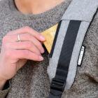 Lopásgátló laptop notebook hátizsák USB töltőporttal
