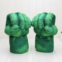 A hihetetlen Hulk The incredible Hulk zöld plüss ököl - párban