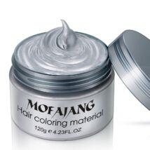 Mofajang hajszínező hajfestő haj wax hajwax hajfesték - ezüst