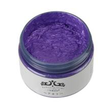Mofajang hajszínező hajfestő haj wax hajwax hajfesték - lila