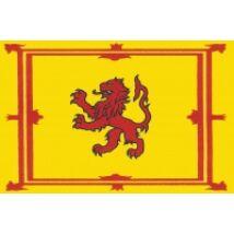 Nemzeti lobogó ország zászló nagy méretű 90x150cm - Skócia, skót oroszlános, címeres