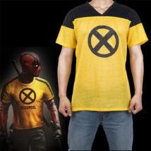X-Force Deadpool Trainee jelmez kiegészítő - sárga gyakornok póló