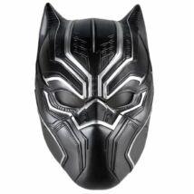 Fekete Párduc Black Panther halloween, farsangi latex gumi maszk