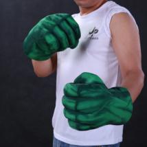 Avengers - A hihetetlen Hulk The incredible Hulk jelmez kiegészítő - zöld plüss ököl kesztyű - párban