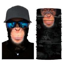 Állatos csősál, maszk, símaszk - Majom, csimpánz