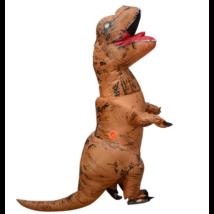 T-Rex felfújható dinoszaurusz dínó jelmez - felnőtt méret