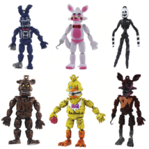 FNAF Five Nights At Freddy's figura szett - 6 darab