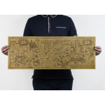 Harry Potter jelmez kiegészítő - Tekergők térképe