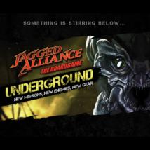 Jagged Alliance The Boardgame Underground - társasjáték KIEGÉSZÍTŐ (angol nyelvű)