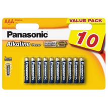 Panasonic AAA Alkaline Power LR03 elemek Value Pack - 10db