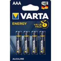 VARTA Energy AAA LR3 micro alkáli elem (4db)