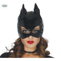 Catwoman halloween farsangi jelmez kiegészítő - macskanő maszk