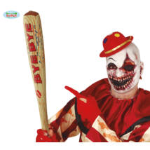 Farsangi halloween jelmez kiegészítő - felfújható BYE-BYE baseball ütő