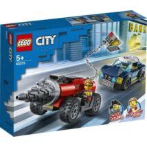 LEGO City 60273 - Elit rendőrség fúrógépes üldözés