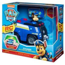 Spin Master Paw Patrol RC Mancs Őrjárat: Chase távirányítós rendőrautója figurával