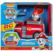 Spin Master Paw Patrol Mancs Őrjárat: Marshall távirányítós tűzoltóautója figurával