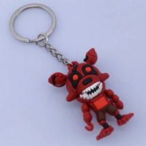 FNAF Five Nights At Freddy's kulcstartó - Foxy robot (4cm)