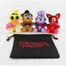 FNAF Five Nights At Freddy's plüss figura tároló zsák