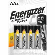 Energizer Alkaine Power AA LR6 micro alkáli elem (4db)