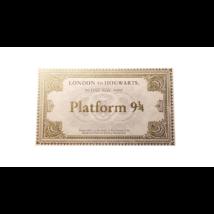 Harry Potter 9 és 3/4 vágány vonatjegy