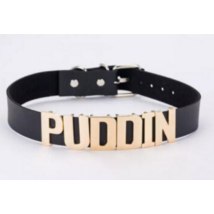 Harley Quinn jelmez kiegészítő - Puddin nyaklánc nyakörv fekete