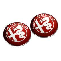 Alfa Romeo logó embléma matrica - 74mm típus:5