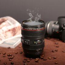 Fényképezőgép kamera objektív bögre