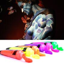6 darabos UV neon testfesték body paint készlet