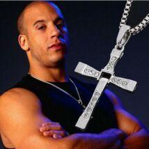 Halálos Iramban Vin Diesel Dominic Toretto kereszt feszület nyaklánc