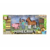 Minecraft Overworld Saddle Pack nyereg szett