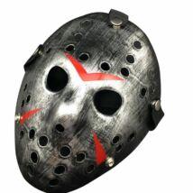 pentek 13 jason maszk halloween ezust