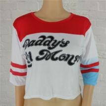 Harley Quinn jelmez kiegészítő - póló