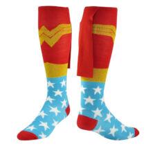 Wonder Woman Csodanő farsangi jelmez kiegészítő - zokni