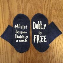 Harry Potter házimanó - Dobby is Free zokni