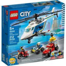 LEGO City 60243 - Rendőrségi helikopteres üldözés