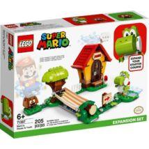 LEGO Super Mario 71367 - Mario háza & Yoshi