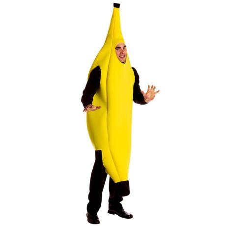 Banán jelmez - felnőtt méret