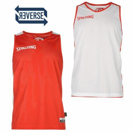 Spalding Move Reversible kifordítható kosárlabda mez trikó - piros-fehér L