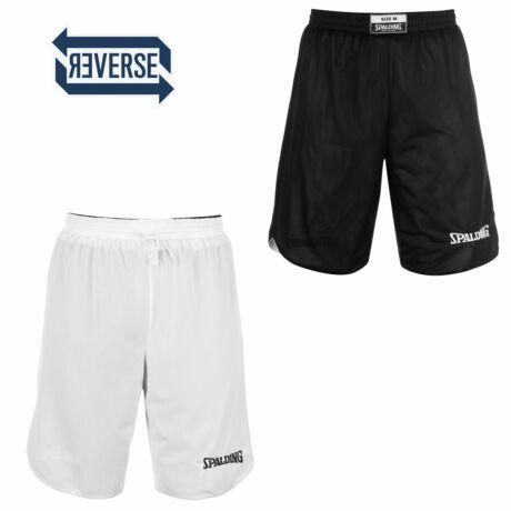 Spalding Reversible kifordítható kosárlabda nadrág - fekete-fehér L