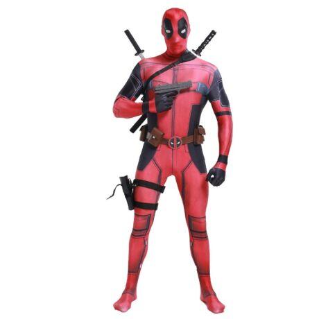 Deadpool halloween farsangi jelmez  - felnőtt