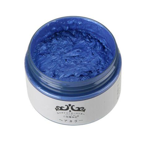 Mofajang hajszínező hajfestő wax hajfesték - kék