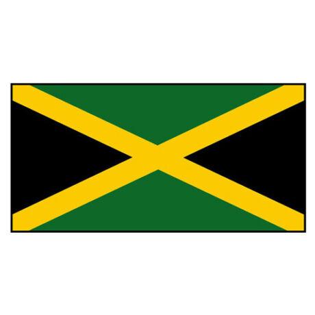 Nemzeti lobogó ország zászló nagy méretű 90x150cm - Jamaika, jamaikai
