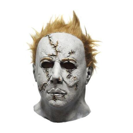 Michael Myers ijesztő halloween, farsangi latex gumi maszk