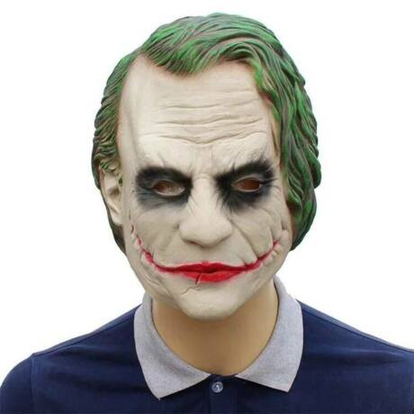 Batman Sötét Lovag The Dark Knight Joker halloween, farsangi latex gumi maszk