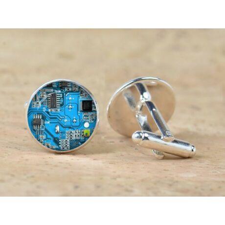 Mandzsettagomb - chip, nyomtatott áramkör, processzor, cpu