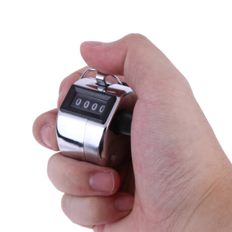 Mechanikus analóg kézi számláló, counter